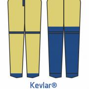 SXT Kelvar pants protection area