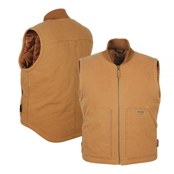 2018_Mobile_Warming_Heated_Apparel_Mens_Bluetooth_12_volt_Workman_Duck_Vest_Combo_MWJ18M14
