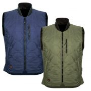 2018_Mobile_Warming_Heated_Apparel_Mens_Bluetooth_Mens_Company_Vest_Olive_and_Navy_Combo