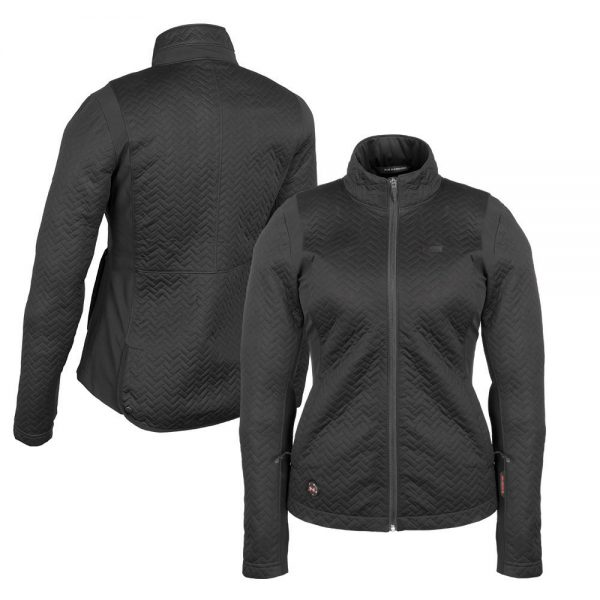 2018_Mobile_Warming_Heated_Apparel_Womens_Bluetooth_7-4_Volt_Sierra_Jacket_Black_Combo_MWJ15W05