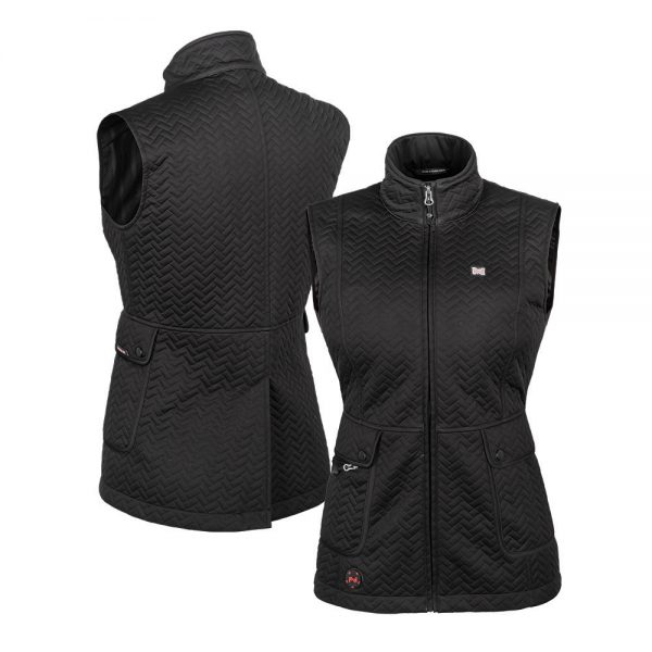 2018_Mobile_Warming_Heated_Apparel_Womens_Bluetooth_Cascade_Vest_7-4volt_Black_Front_Combo_MWJ15W06
