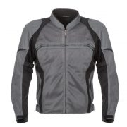 2017_Fieldsheer_Motorcycle_Jacket_Textile_Mens_High_Flow_Mesh_Black_Gunmetal_Front