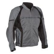 2017_Fieldsheer_Motorcycle_Jacket_Textile_Mens_High_Flow_Mesh_Black_Gunmetal_Front_Angle